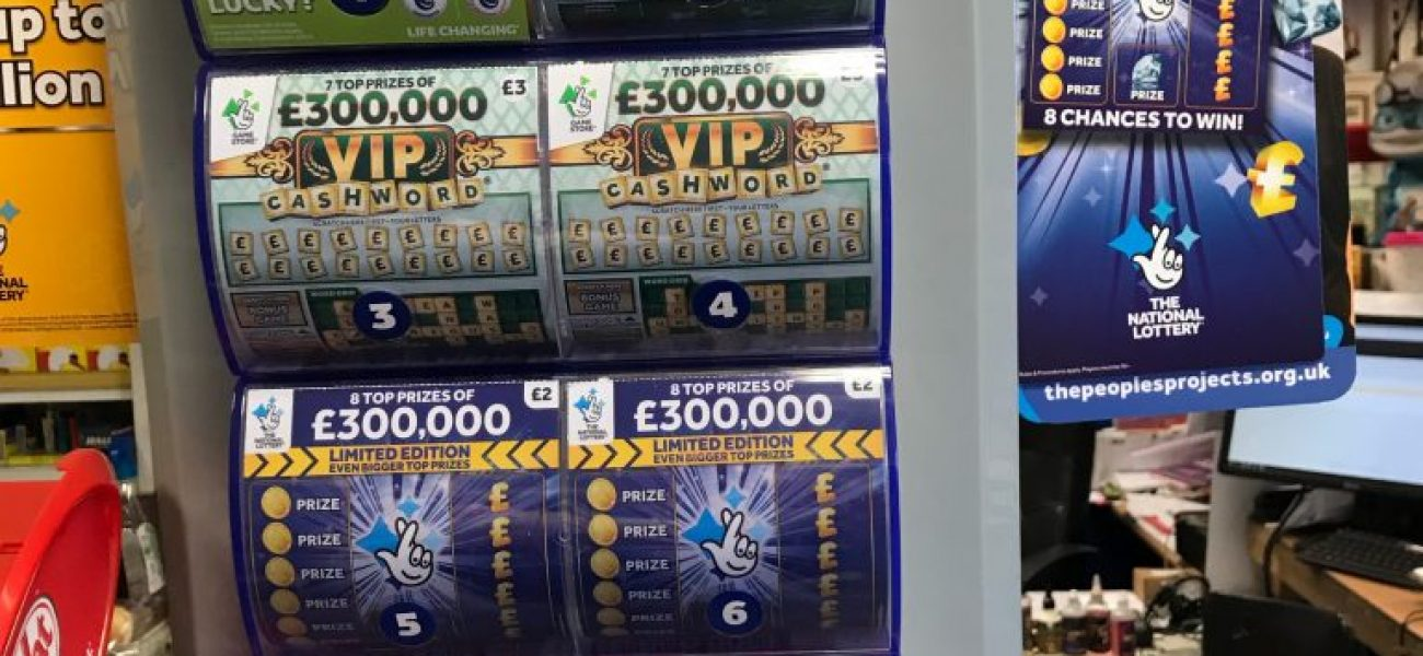 Feeling Lucky? Grab yourself a scratch card or a lottery ticket